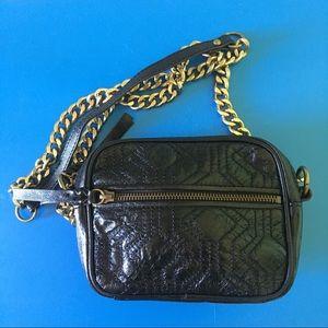 The Sak Bags - Vintage The Sak Onyx Black Leather Camera Bag